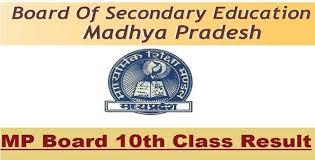 Madhya Pradesh 10th Result